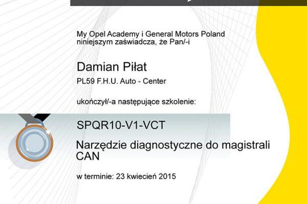 Autoelektornika Opcar Kraków Opel Damian Piłat